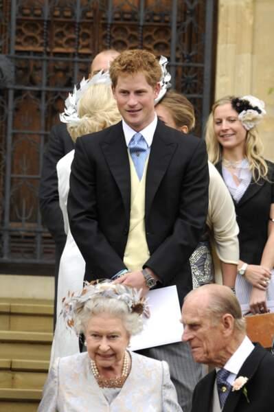 Car le prince Harry chic c'était aussi des fashion faux-pas !