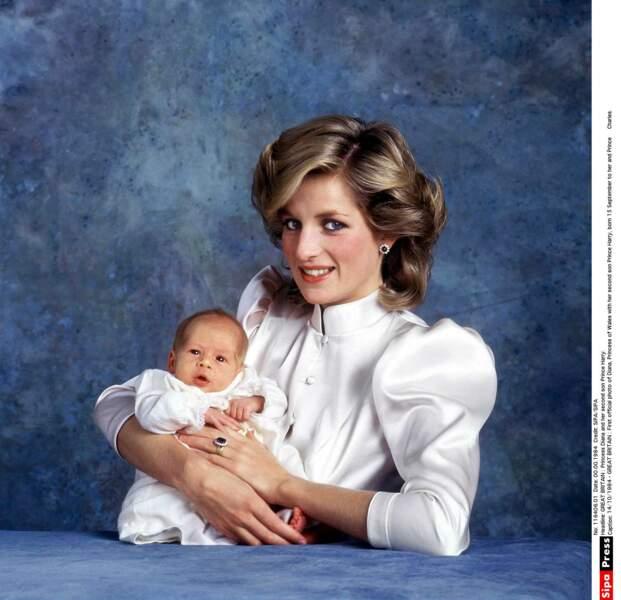 Diana et le prince Harry
