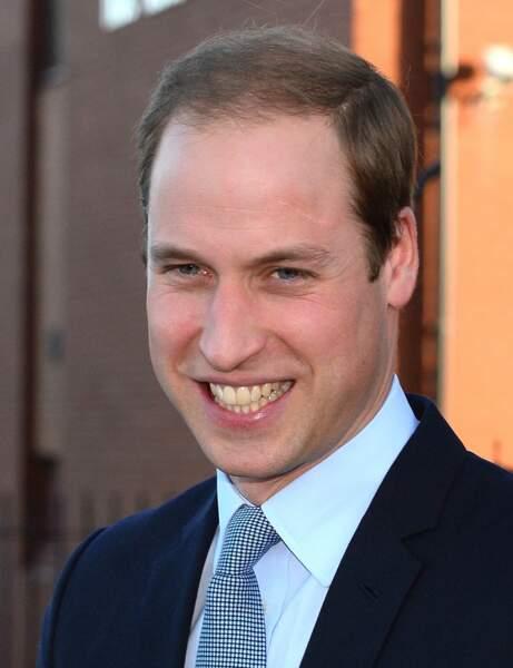 Le Prince William à 31 ans