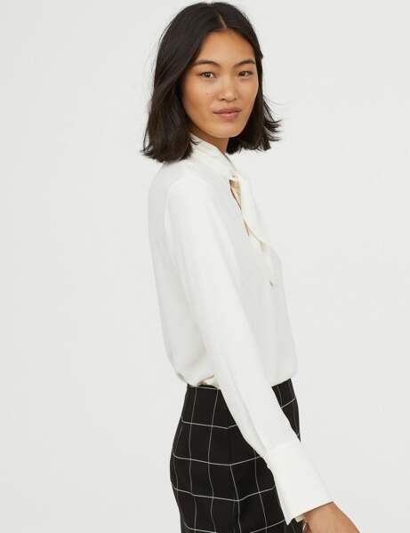 Nouveautés H&M : la blouse seveties