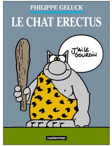 Le chat erectus, Philippe Geluck, Ed. Casterman, 10,50 euros
