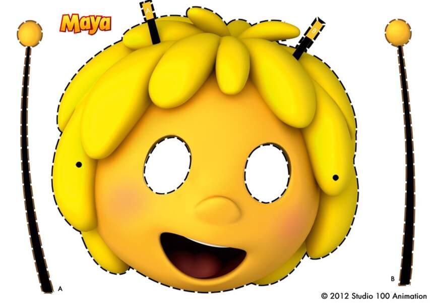 Le masque Maya l'Abeille