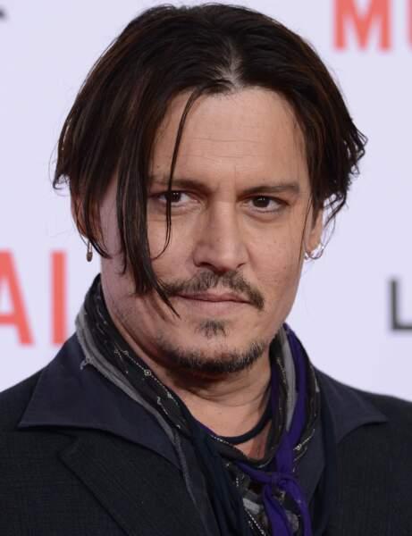 L'acteur Johnny Depp a très peur...