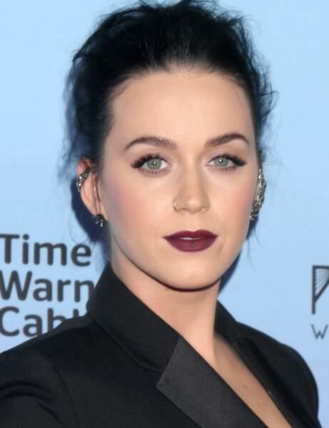 La chanteuse Katy Perry a la phobie...