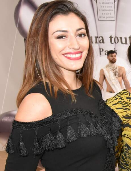 Rachel Legrain-Trapani avec maquillage