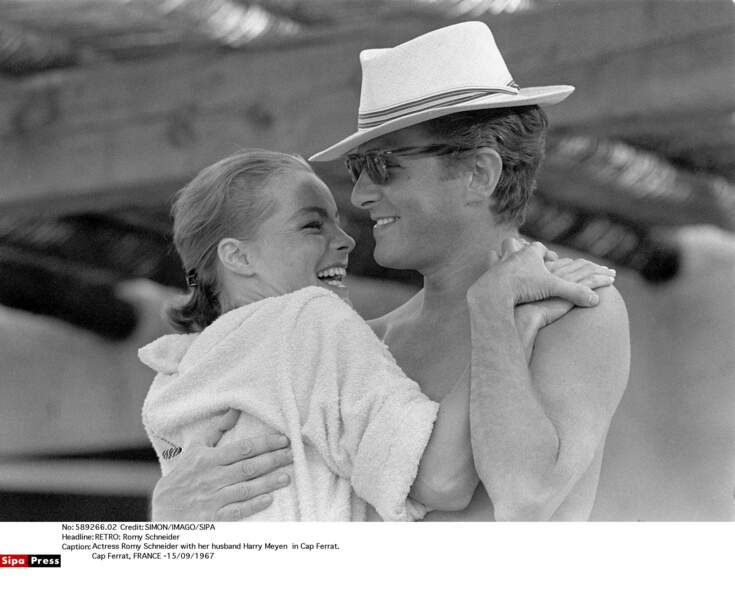 Romy Schneider et Harry Meyen, 1965-1975