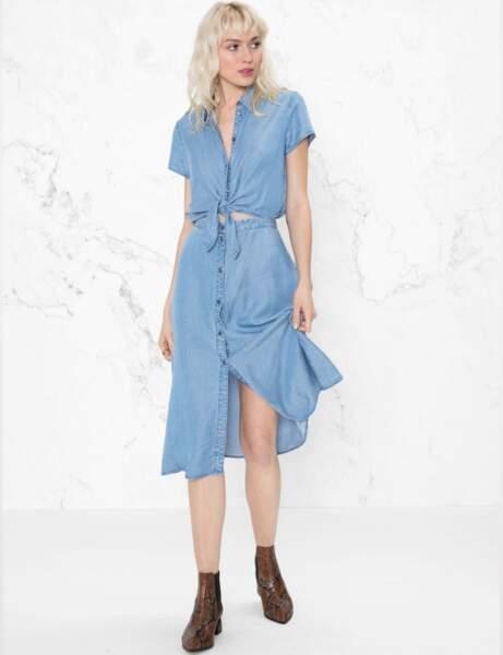 Robe chemise : vintage