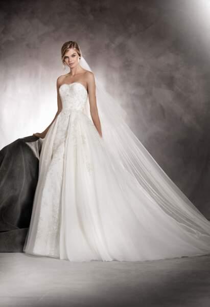 Robe de mariée Pronovias : Abril