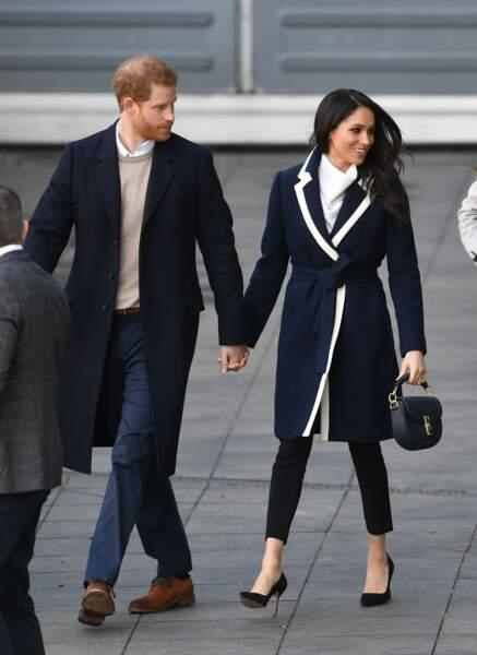 Le prince Harry et Meghan Markle à Birmingham en mars 2018
