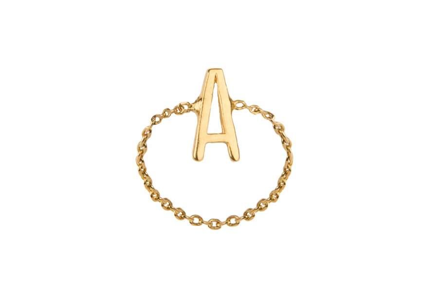 La bague alphabet