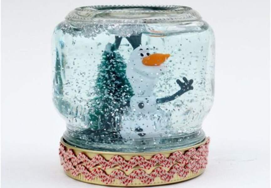 Une boule de neige home made