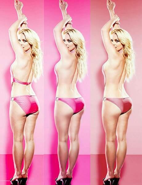 Britney Spears a gommé sa peau d'orange