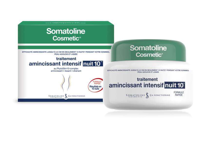 Le traitement amincissant intensif nuit 10 Somatoline Cosmetic