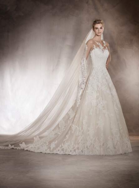 Robe de mariée Pronovias : Angelica
