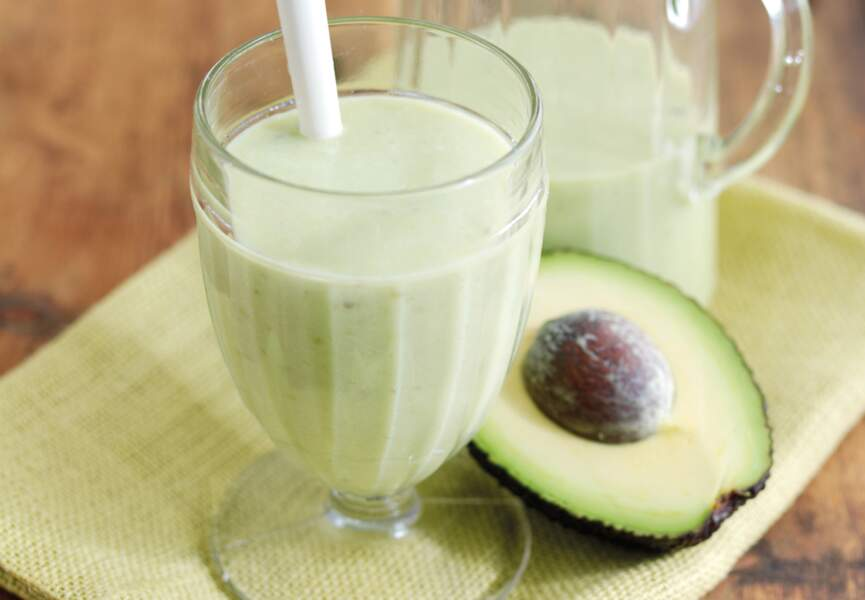 Smoothie avocat banane