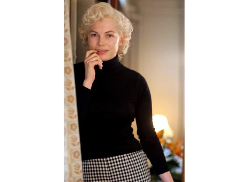 Michelle Williams est Marilyn Monroe, en 2011