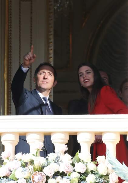 Charlotte Casiraghi, en couple avec Gad Elmaleh en 2013