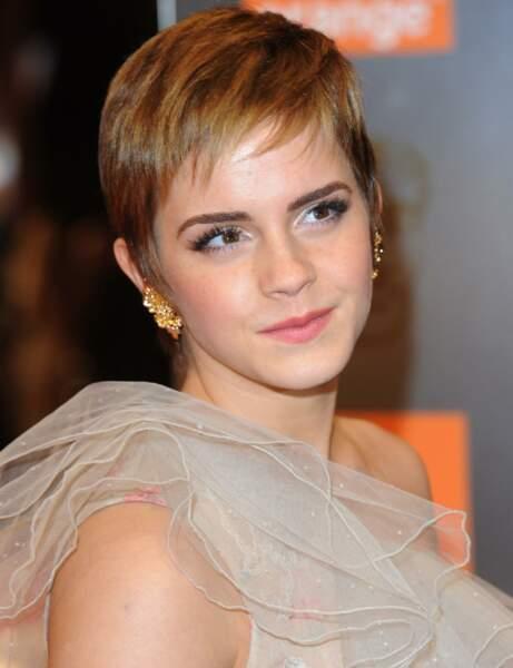 La coupe pixie d'Emma Watson