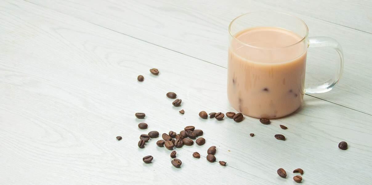 Thé glacé goût café