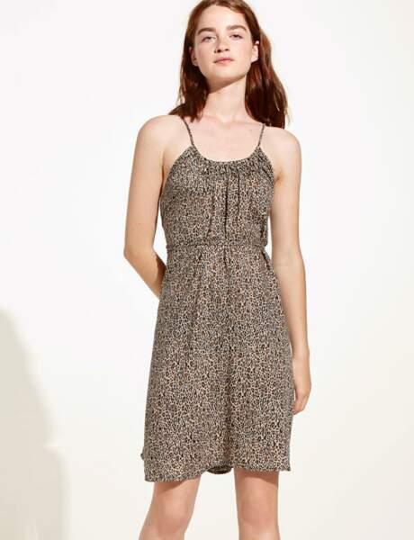 La robe léopard