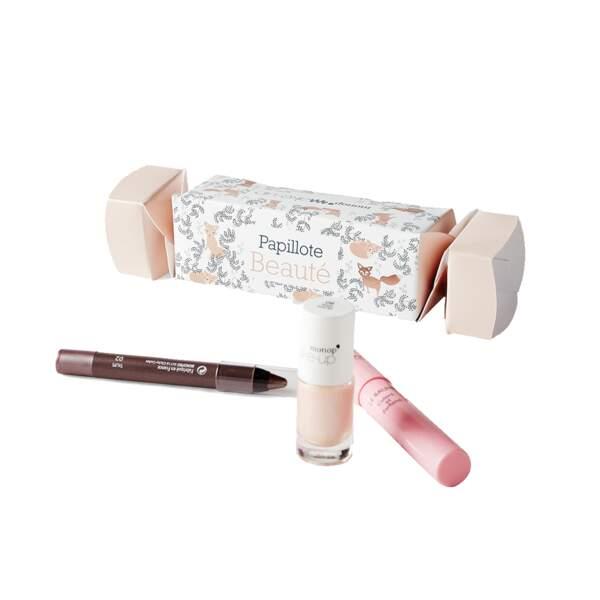 Papillote surprise de Noël, Monop' Make-up, 9,99 €