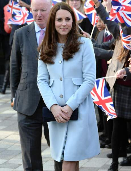 Kate Middleton : le manteau de grossesse Seraphine