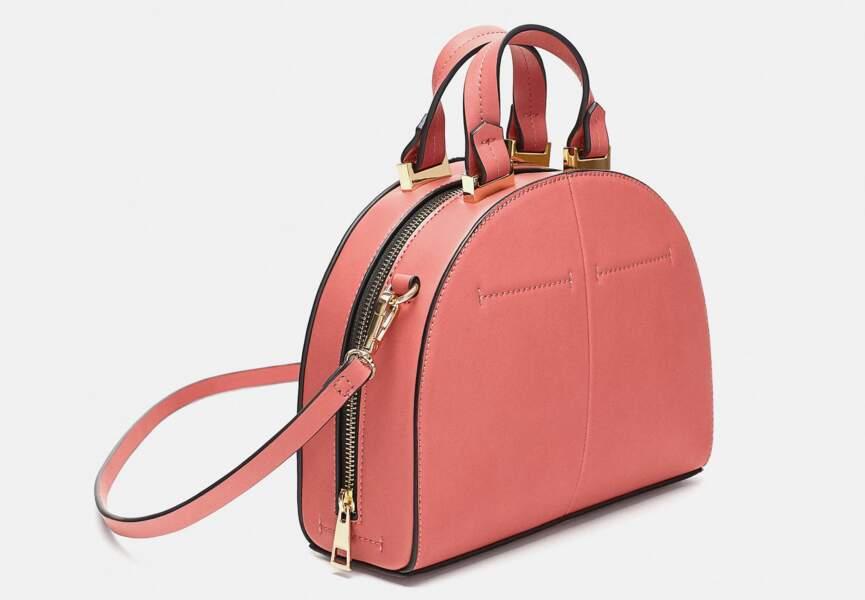 Nouveautés Zara: le sac bowling