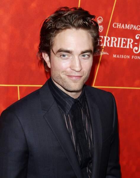 Robert Pattinson et sa coupe gominée