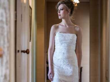 PHOTOS – Les plus belles robes de mariée bustier repérées chez les créateurs