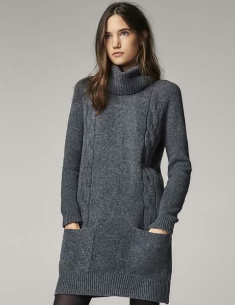 Mode cocooning : la robe en laine