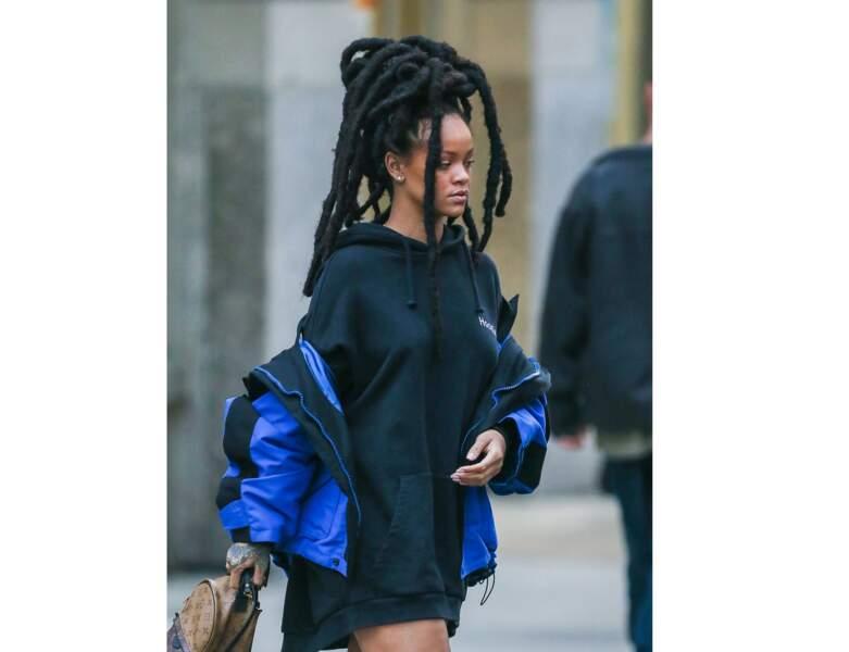 La chanteuse Rihanna en 2016