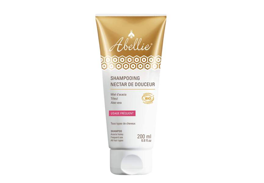 Shampooing bio Nectar de Douceur d'Abellie