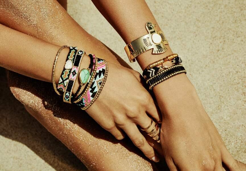 "Tendance bijoux ""stacking"" : la panoplie ""samba"""