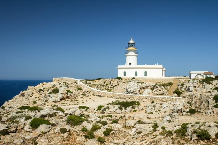 Phare au Cap de Cavalleria, Menorca