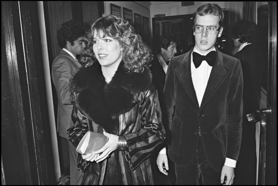 La princesse Caroline et le prince Albert de Monaco chez Maxim's en 1978.