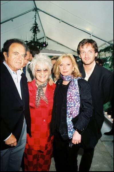 Véronique Sanson, Pierre Palmade, Guy Béart, Catherine Lara réunis pour les 70 ans de Line Renaud le 3 juillet 1998