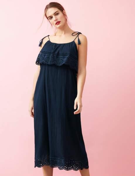 Mode ronde : la robe mi-longue
