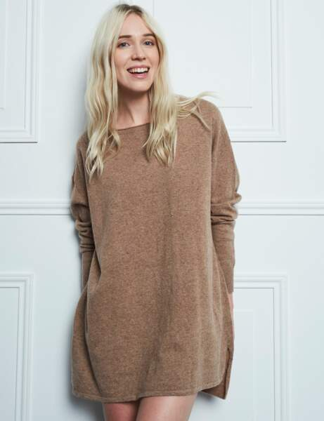 Mode cocooning : le pull tunique