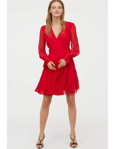 Robe forte poitrine : rouge passion