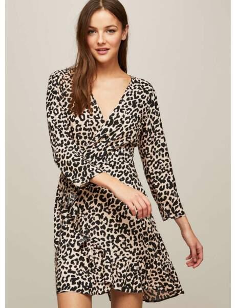 Robe d'hiver : la robe léopard