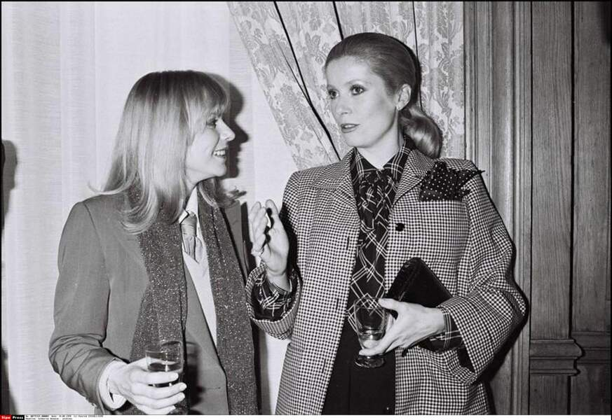 Catherine Deneuve et France Gall