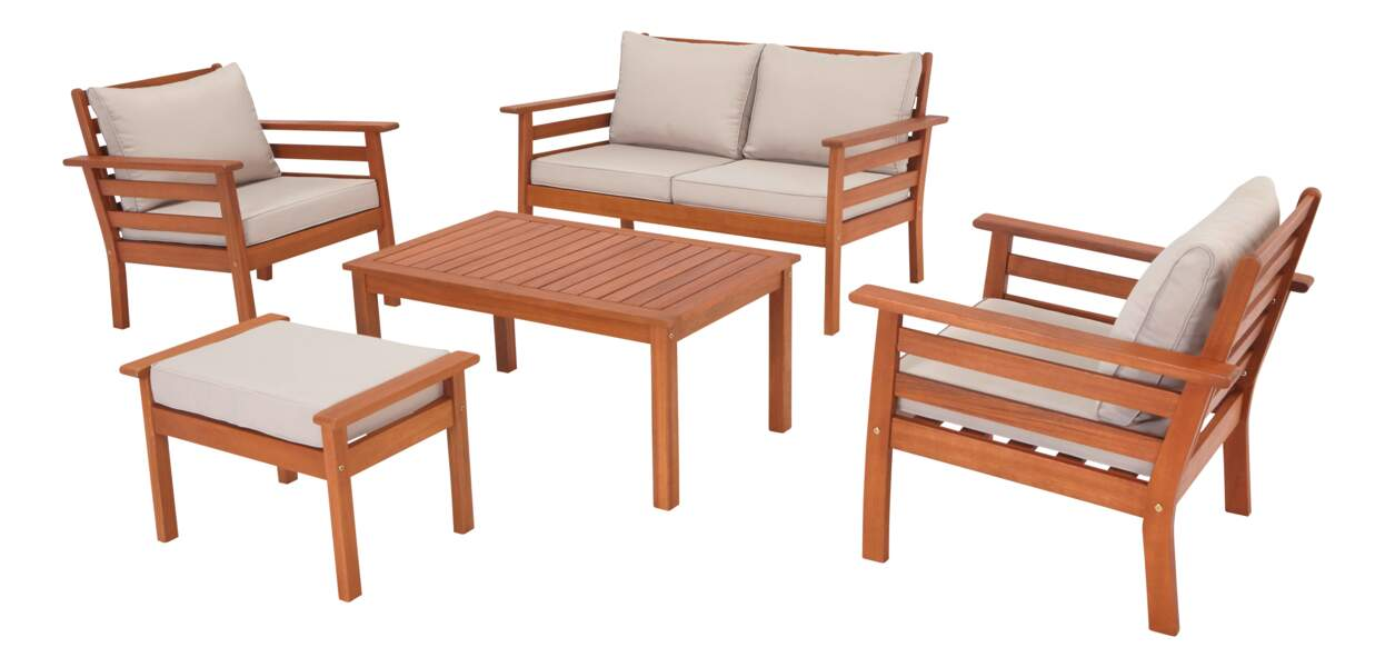 Carrefour : la collection mobilier de jardin printemps été ...