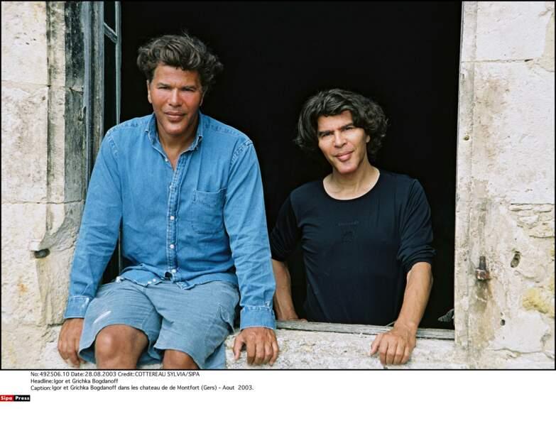 Igor et Grichka Bogdanoff : 2003