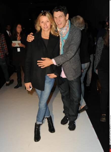 Marc Lavoine et Sarah Poniatowski, 2013