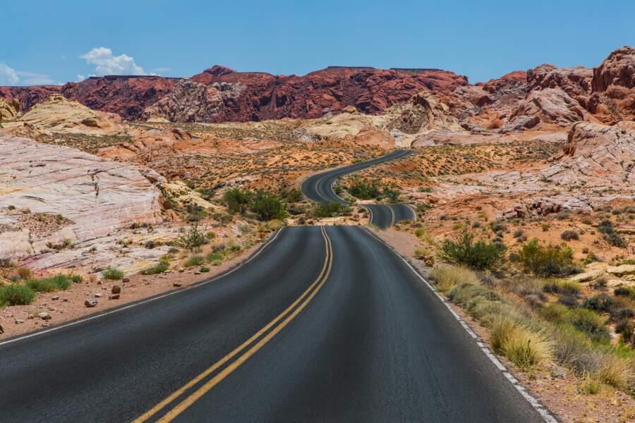 Vallée de feu, Nevada