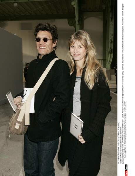 Marc Lavoine et Sarah Poniatowski, 2007