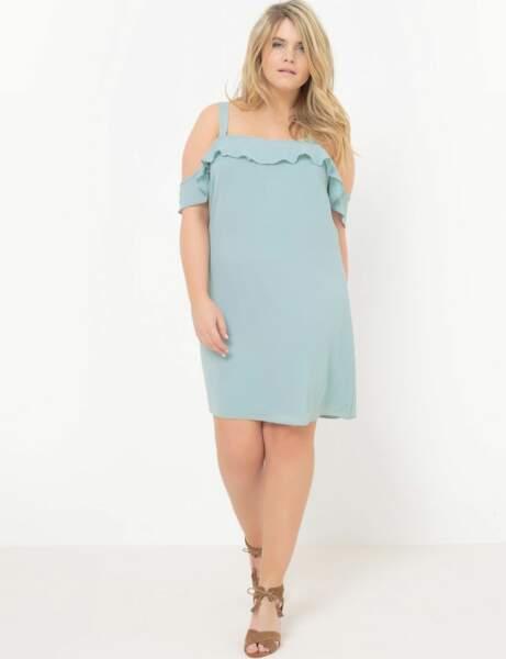 Mode ronde : la robe dénudée
