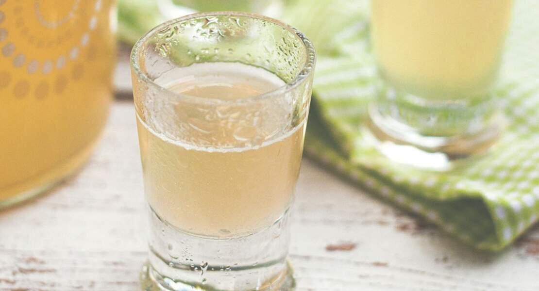 Vin de citron au miel façon limoncello
