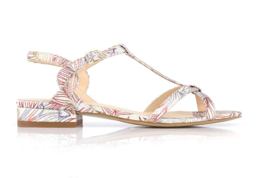 Sandales : tropical
