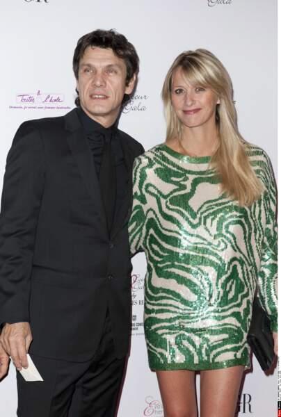 Marc Lavoine et Sarah Poniatowski, 2010